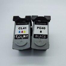 Картриджи для Canon PG-40 PG 40 PG40 CL-41 CL41 CL 41 PIXMA iP1180 iP1200 iP1300 iP1600 iP1700 iP1880 iP2200 струйный принтер