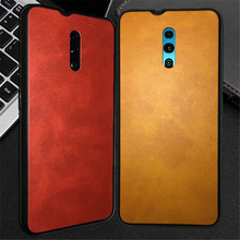 Oneplus 6T Case,ALIVO Vintage pu leather+tpu full protection Fitted Case for 5t Anti-knock back Cover 6 tpu