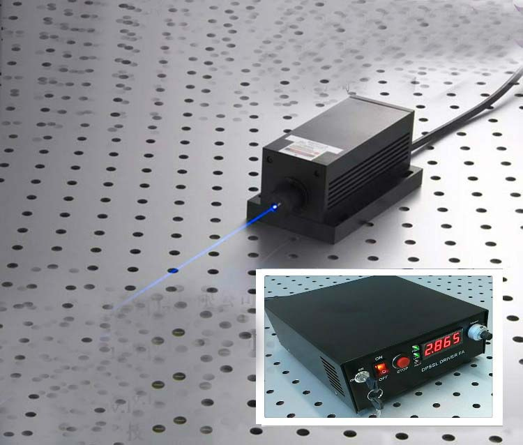 473nm 400mw Blue Laser System With Digital Screen And