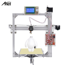 Auto leveling 3D metal printer A2 3D Printer Kit Size 220*220*220mm/220*270*220mm LCD12864 / 2004 Option with 1Rolls Filaments