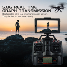 цена на X191 Professional 2MP HD Camera Drone GPS Quadcopter FPV RC Drone With Live Video And Return Home RC Quadrocopter