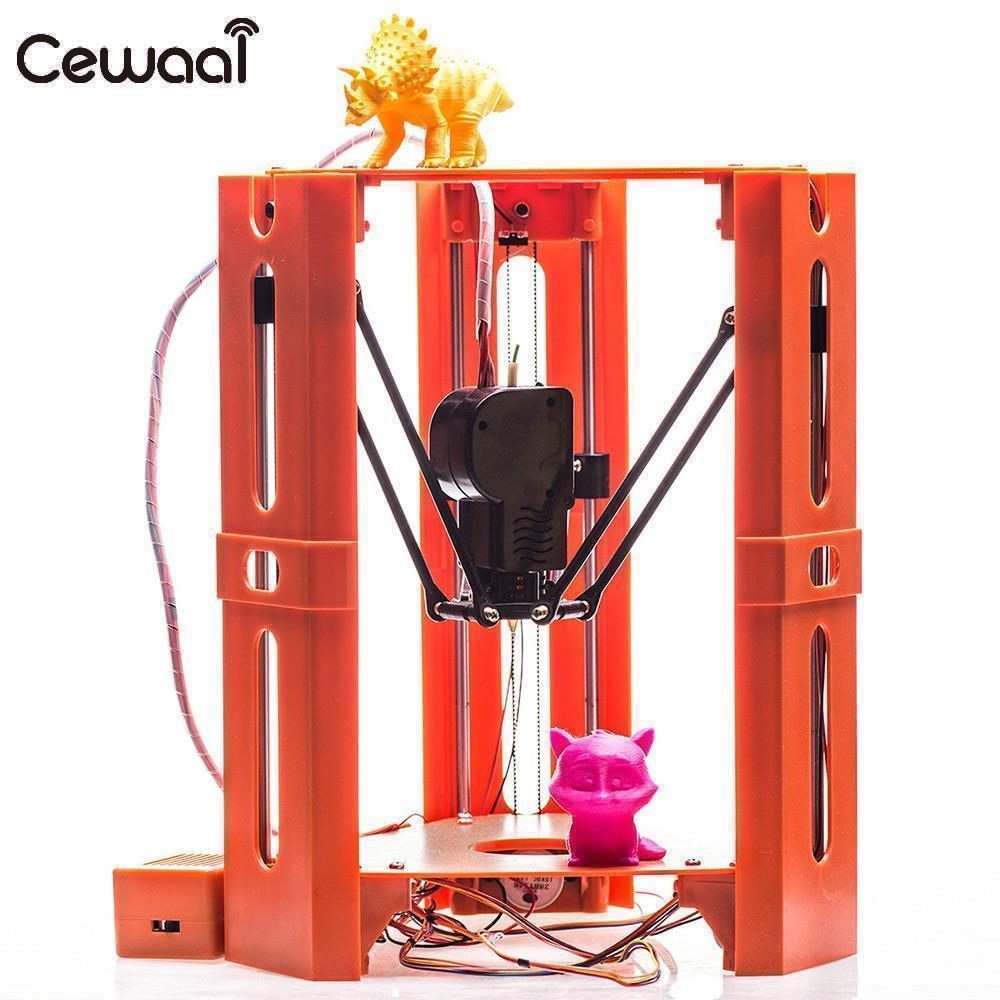 Высокая точность 3D принтеры Maker художественных промыслов в разобранном виде герой Delta печати 3D принтеры 3D принтеры комплект профессиональн