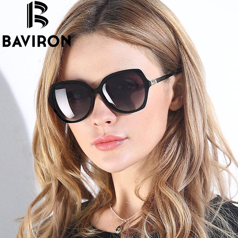 BAVIRON Woman HD font b Polarized b font Sunglasses Oval Style Frame New font b Fashion