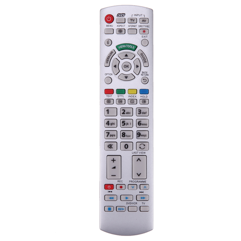 Remote Control Replacement TV Remote for Panasonic N2QAYB000673 N2QAYB000504 N2QAYB000785 TX-L37EW30 TX-L42EW30 TV