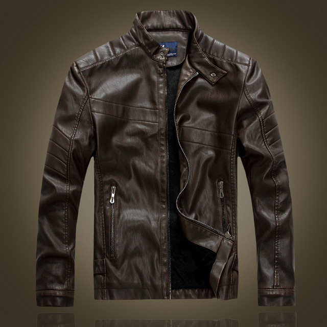 Vente veste cuir homme