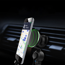 Universal Car Mobile Phone Holder charge stand 360 Degree Nano adsorption Support Air Vent Mount Car Phone Holder Car charger