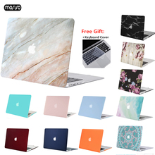 MOSISO Matte Hard Case For MacBook Air Pro Retina 11 12 13 15 Laptop Cover New 15.4 13.3 inch with Touch Bar Sleeve