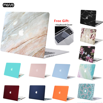 MOSISO Matte Hard Case For MacBook Air Pro Retina 11 12 13 15 Laptop Cover Case For New Pro 15.4 13.3 inch with Touch Bar Sleeve matte plastic protective case cover for 2012 new apple macbook pro 15 4 inch with retina display a1398 transparent
