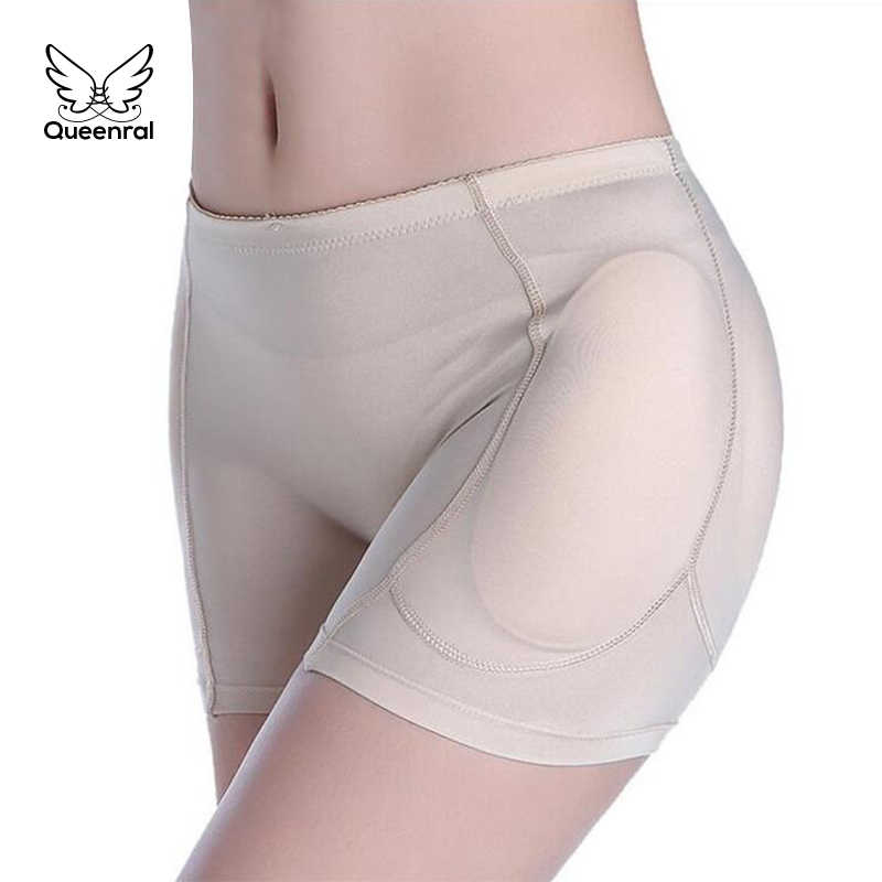 cad69cb828b ... Briefs Women push up hot pants Butt lifter Slimming lingerie hip pads  shaper Butt Enhancer Fake ...