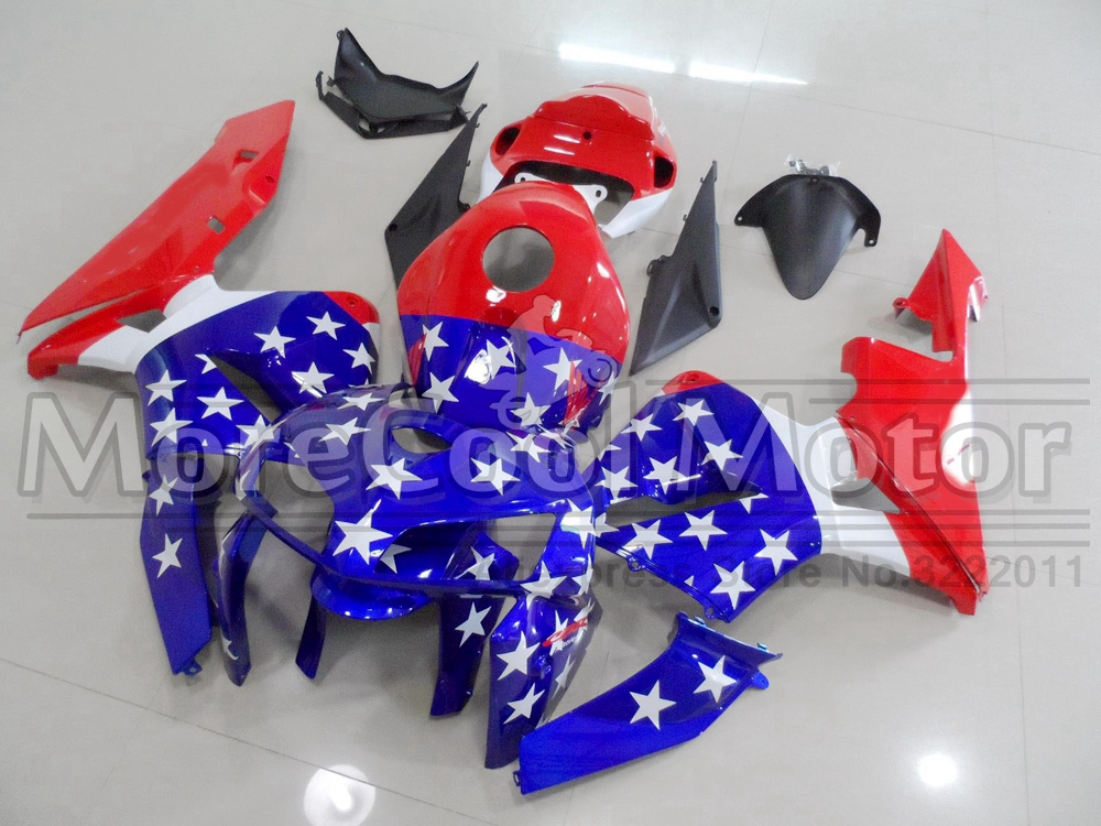 Injection Full Fairings For Honda CBR 600 RR 2005 2006 American Star Flag Plastic Motorcycle Mold mouse component plastic injection mold cnc machining household appliance mold ome mold