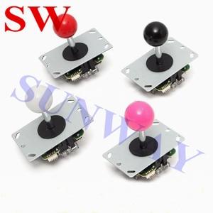 Image 5 - Miễn phí Vận Chuyển TỰ LÀM Arcade BỘ Arcade Sanwa phong cách joystck và LED nút giao diện USB 1 cầu thủ MAME Giao Diện USB để Jamma
