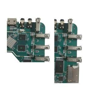 Image 3 - MXQpro MXQ4K anakart akıllı android tv kutusu 7.1 RK3229 1GB 8GB 2GB 16GB anakart PCBA dört çekirdekli tamir