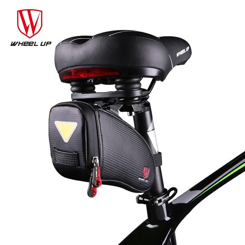 Wheel Up Cycling EVA Rainproof Reflective Rear Seatpost font b Bag b font Outdoor MTB Road