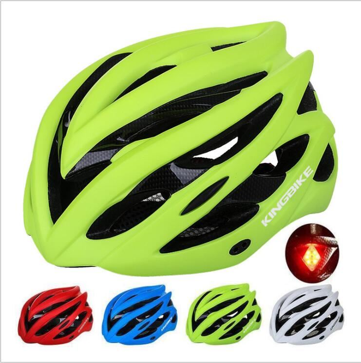 5 colors Cycling Helmet Ultralight shockproof ESP  Mountain Road Bicycle MTB Bike Helmet With Taillight Visor Insect Net