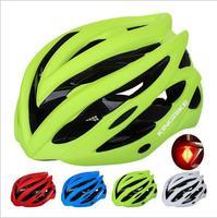 5 farben Radfahren Helm Ultraleicht stoßfest ESP Mountain Road Fahrrad MTB Fahrrad Helm Mit Rücklicht Visier Insekten Net