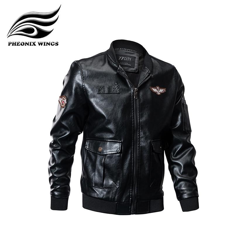 Autumn Winter Leather Jacket Men Clothes 2018 Casual Man's Coat Fashion  Chaqueta Hombre Black Kurtka Man New Parka Quality Coat