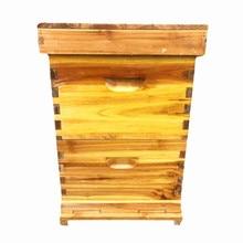 Прямая с фабрики вареный воск высокая коробка ГБ десять размер коробки пчелиный ульи инструменты коробка с пчелами