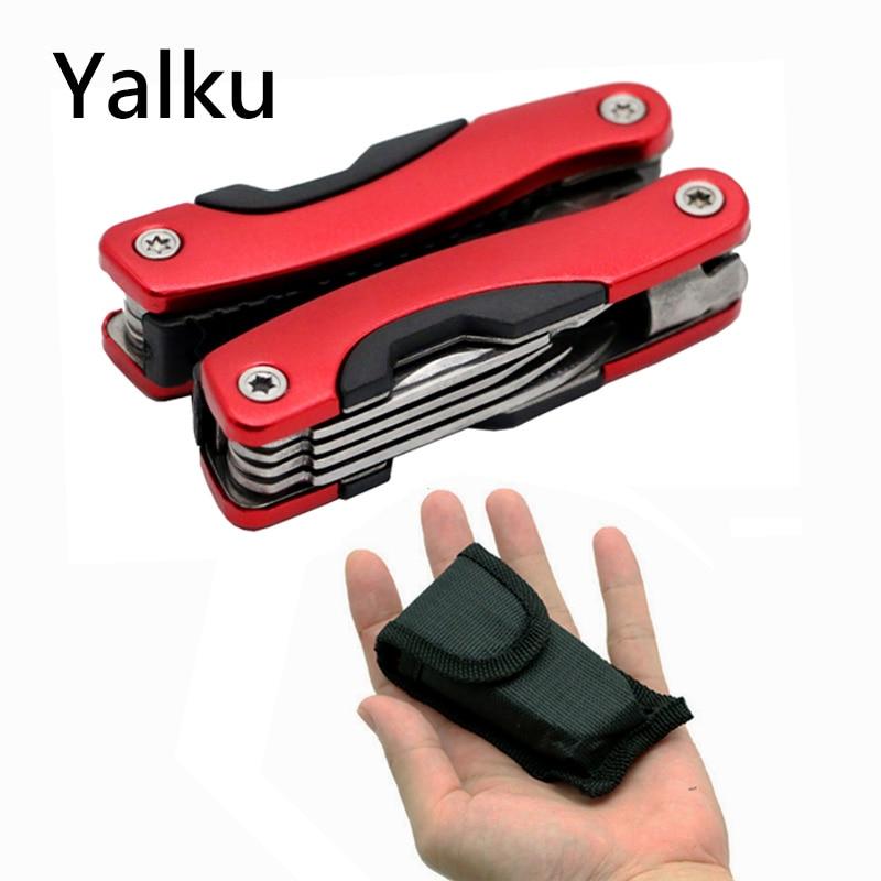 Yalku Nóż składany Szczypce Multitool Szczypce Outdoor Multitool - Narzędzia ręczne - Zdjęcie 4