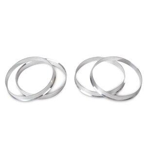 Image 2 - DWCX anneaux de moyeu en aluminium, 4 pièces