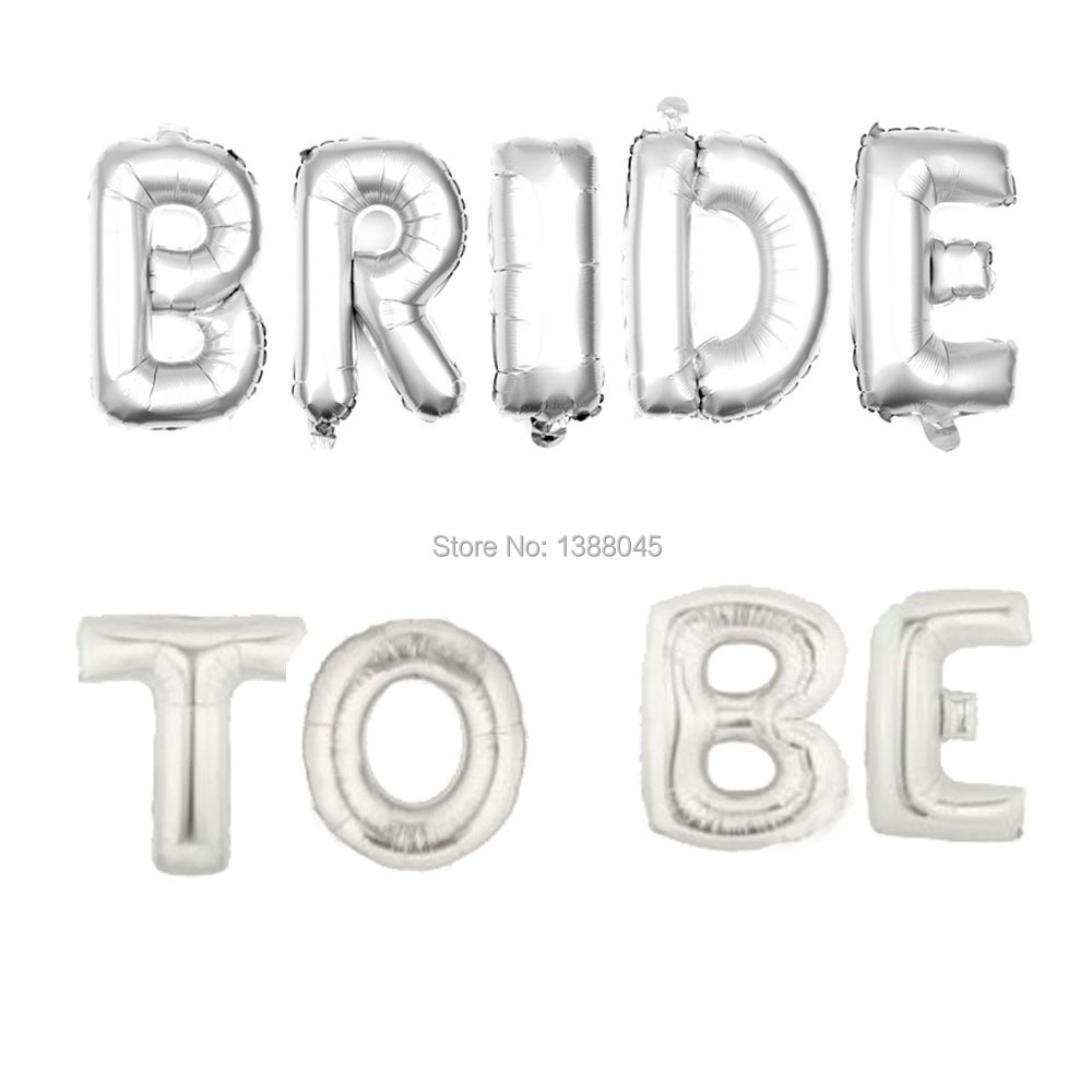 bride to be silver