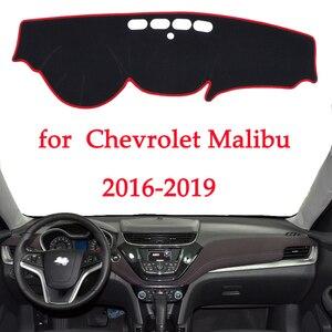 Image 1 - Tapis de bureau, pour tableau de bord de voiture, éviter la lumière, pour Chevrolet Malibu 2016 2017 2018 2019