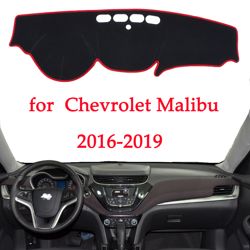 Image 1 - car dashboard avoid light pad For Chevrolet Malibu 2016 2017 2018 2019 instrument platform Desk Cover Mats Carpets Automotive-in Interior Mouldings from Automobiles & Motorcycles