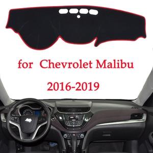 Image 1 - car dashboard avoid light pad For Chevrolet Malibu 2016 2017 2018 2019 instrument platform Desk Cover Mats Carpets Automotive