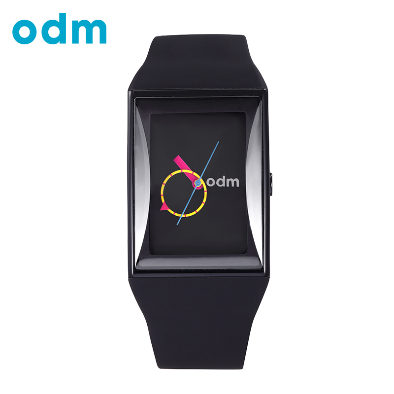 ODM Luxury Men Women Unisex Black Clock Waterproof Fashion Hours Casual Military Quartz Hot Brand Silicone Sports Watches DD132