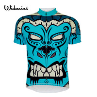 Devil Team Bicycle Clothing Road Racing Short Sleeved Cycling Jersey 2017 Widewins Dog Breathable Mesh Cycling