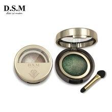 D.S.M Фирменная Новинка минерализирует Тени Водонепроницаемый длительный косметический глаза совершенные оттенки световой пигмент теней для макияжа