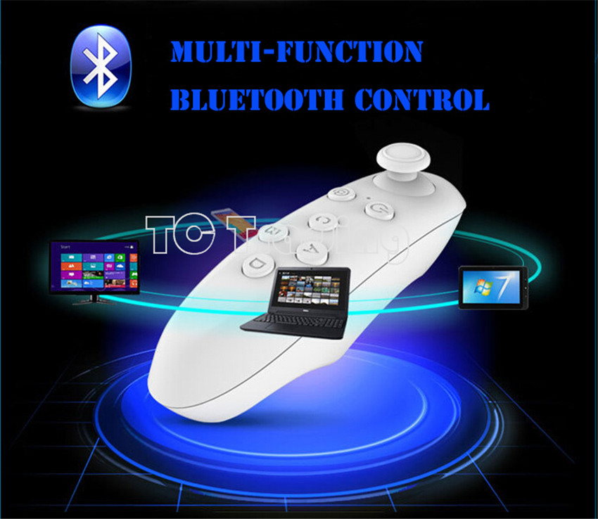 Hot Sale Universal Bluetooth Controller Wireless Gamepad Mouse Mini Wireless Remote Controller For iPone ios Samsung