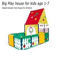 Новейший детский игровой домик Игровая палатка садовые палатки Детские океан мяч бассейн манежи садовая палатка для детей 1 7 лет