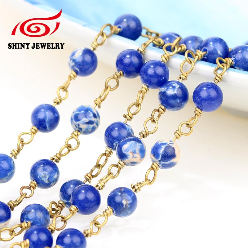 inch in ball fashion necklaces jewelry chain necklace beaded accessories steel bead lot parts chains from item wholesale stainless