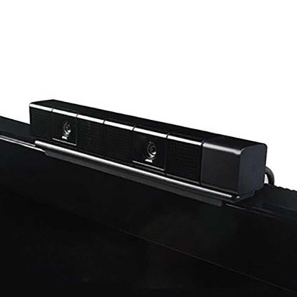 Стабильный держатель ТВ зажим обеспечивает экономию места • Регулируемые черные хип-хоп Сенсор кронштейн Пластик вертикальная подставка глаз Камера крепление ЖК-дисплей для PS4 для sony