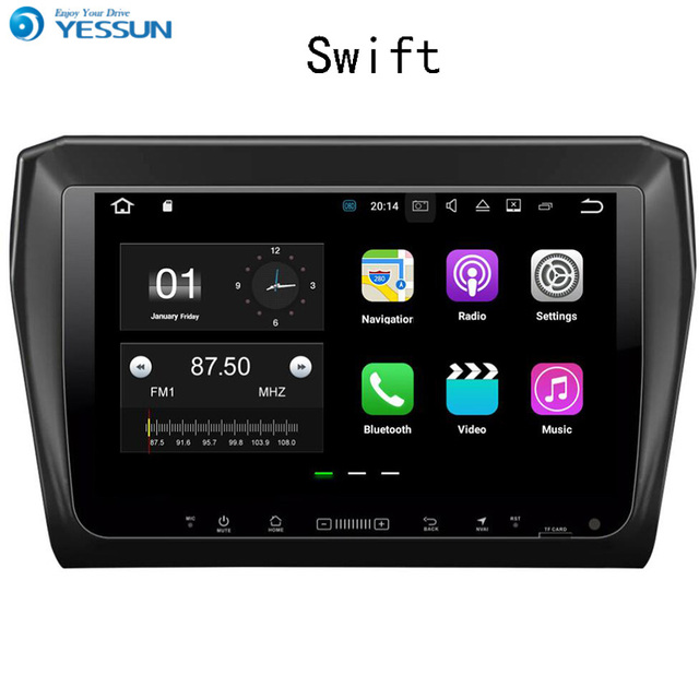 Big Deal YESSUN Car Navigation GPS For Suzuki Swift 2017~2018 Android HD Touch Screen Audio Video Stereo Multimedia Player No CD DVD