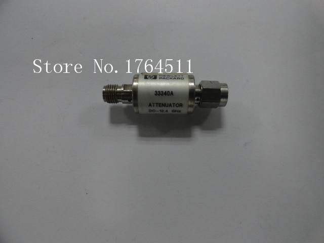 [BELLA] ORIGINAL 33340A 3/10dB DC-12.4GHZ 2W SMA Coaxial Fixed Attenuator