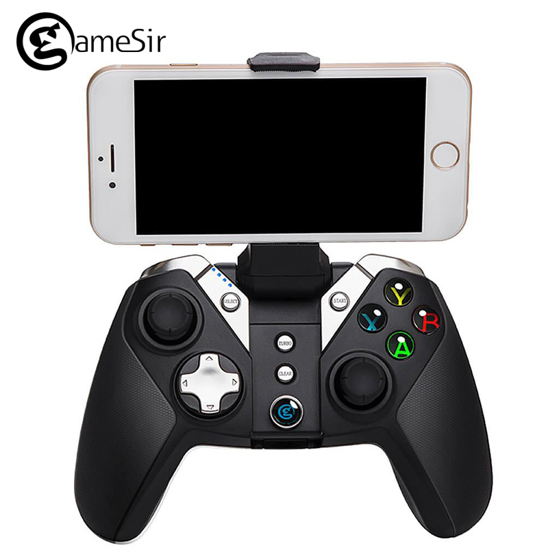 GameSir G4 Bluetooth 4.0 / 2.4G Wireless / Wired nes VR Gamepad Game Controller snes 800 mAh Capacity for iOS Android PC PS3 девушка из джерси