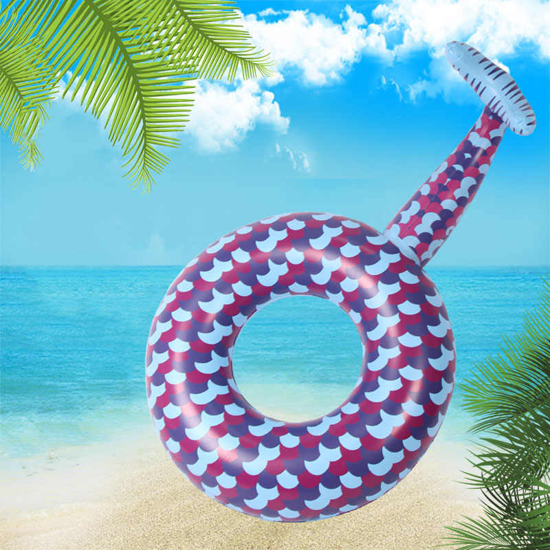 New 180cm Inflatable Mermaid Swimming Ring for Adult Pool Float Swimming Circle Summer Party Toys Inflatable Mattress Pool Toys