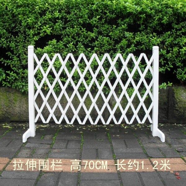 Bois massif clôture rétractable clôture blanche traction de mariage ...