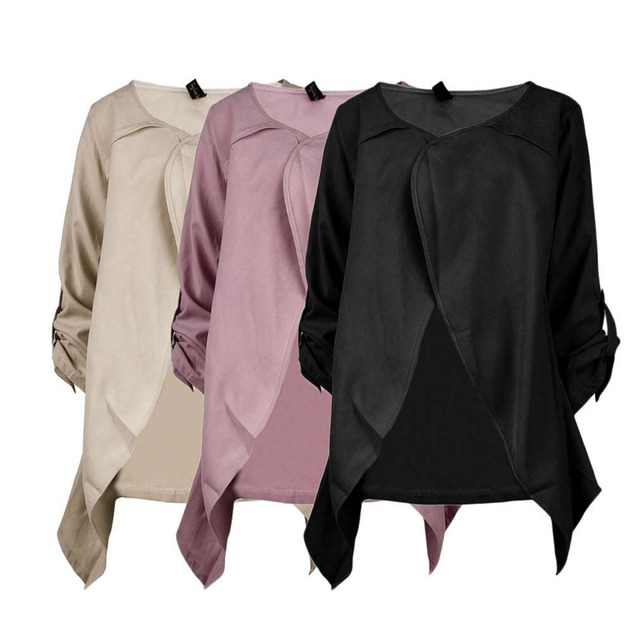 New Hot 3 Colors Maternity Casual Loose Thin Women Cardigan Maternity Pregnant Clothing Polyester Coat Outerwear