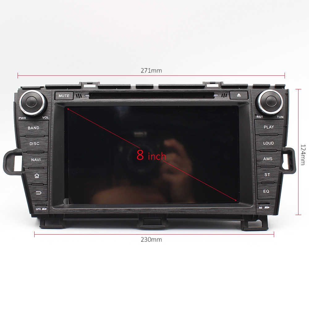 medium resolution of  greenyi 4g ram android 9 0 car dvd for toyota prius 2009 2010 2011 2012 2013 octa