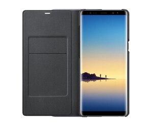 Image 4 - Chính Hãng SAMSUNG LED View Bao Da Smart Cover Ốp Lưng Điện Thoại Samsung Galaxy Note 8 N9500 Note8 N950F SM N950F Điện Thoại Chính Hãng bao Da