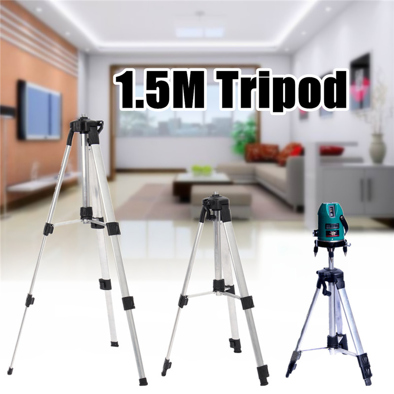 Tripod 1.5M For Laser Level Tool Automatic Self 360 degree Leveling Measure Building level Construction Marker Tools цена