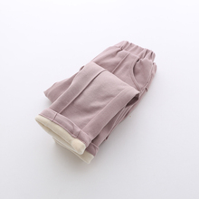 Девушки брюки Yangmei дети 2016 зима новый Корейский темперамент Fanjia кашемир два ребенка брюки брюки