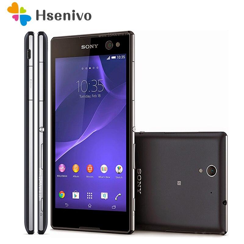 100% Original Unlocked Sony Xperia C3 D2533 D2502 1GB RAM 8GB ROM 5.5