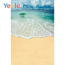 Yeele Summer Seaside Waves VIEW Beach Landscape Photography Backgrounds Vinyl Camera Photographic Backdrops For Photo Studio