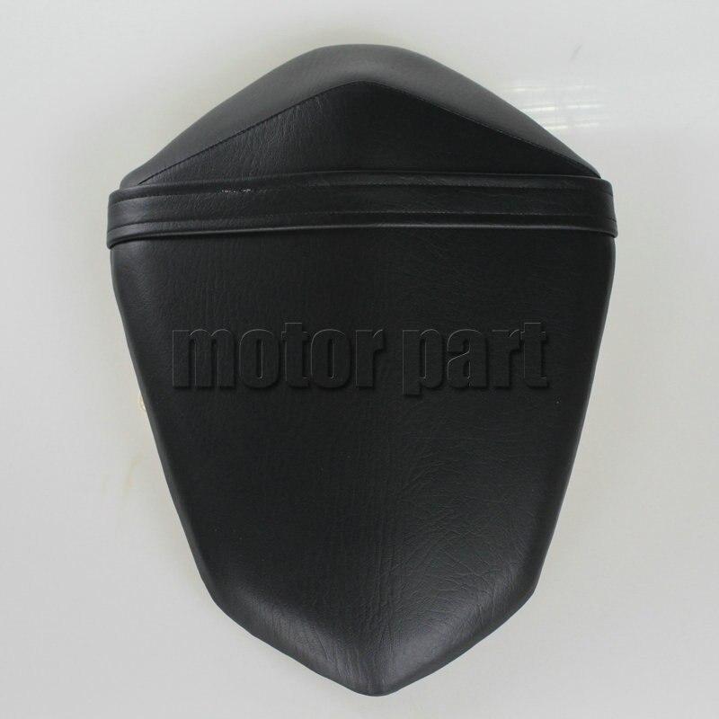 For 2013 2014 2015 2016 Kawasaki Z800 Z 800 Motorcycle Leather Passenger Pillon Rear Seat Black