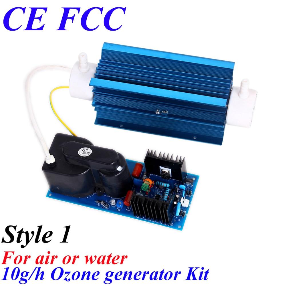 CE EMC LVD FCC 10g/hr ozone air purification water sterilization portable ozone generator ce emc lvd fcc good quality 10g ozone quartz suite for water purification