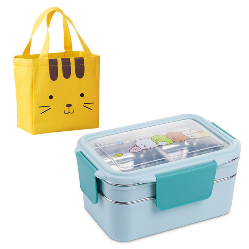Blue-Lunch Bag