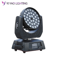 led dmx zoom wash 36x12w Moving Head light stage washer lights effect